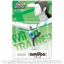 Nintendo amiibo Wii Fit trainer Super Smash Brothers series Japan