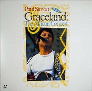Paul Simon - Graceland - The African Concert - CD VIDEO