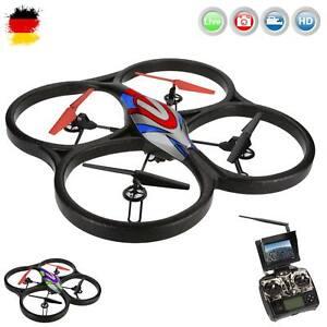 4.5 Kanal RC ferngesteuerter Quadcopter mit Live-Kamera Monitor, Drohne, Modell