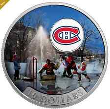 2017 Canadian Passion to Play: Montreal Canadian®  1/2 oz Silver Colored Coin