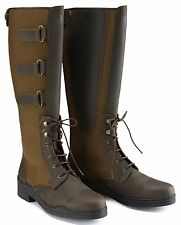 NEW STUNNING ** CALDENE BREDON **LEATHER LONG RIDING BOOTS SIZE 4 RRP £220