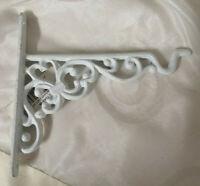 Regalstütze Ampelhaken Regalwinkel Wandkonsole weiß18x 19 cm Shabby Chic Vintage