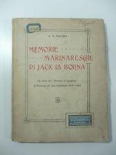 Vecchj, Memorie marinaresche di Jack la Bolina, 1911