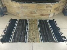 Rustic Fireproof Fireside Fireplace Leather Rug Carpet Hearth Fire Resistant