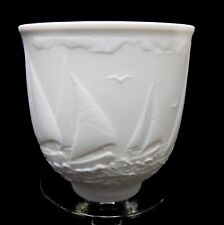 """Lladro porcelaine #17657 Sailing The Seas cup - Collector's Society 1997 3-1/2"""""""