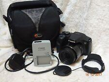 Canon PowerShot SX520 HS Fotocamera Digitale 16MP, 42x zoom ottico 3 Pollici LCD + VALIGETTA