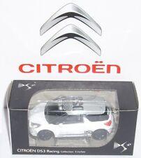 NOREV CITROEN DS3 RACING - 3 INCHES BIANCA TETTO GRIGIO MODELLINO NUOVO IN BOX