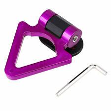 1Pcs Purple Decor Hook Ring Eye Towing Tow Car Trailer Decoration Sticker Arrow