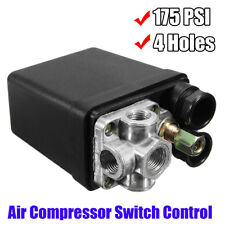 Heavy Duty Air Compressor Pressure Switch Control Valve 90 PSI-120 PSI 240V 20A