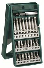 BOSCH SCREWDRIVER BIT SET POZI HEX TORX SLOTTED PHILLIPS IN CASE 25PC