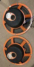"""JBL D120F Pair Of Vintage 12"""" Guitar Speakers"""