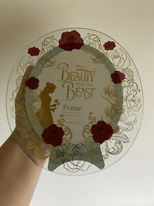 Beauty And The Beast Disney Photo Frame Brand New Rose Christmas Gift
