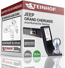 JEEP GRAND CHEROKEE LAREDO AHK ADAPTER für US-FAHRZEUGE 50x50mm GESENKT NEU