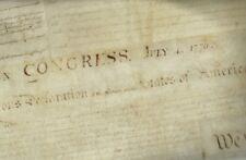 Patriots digital panel Constitution script writing Kaufman fabric