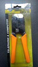 Combo RJ45 Network RJ11 Telephone Crimping Tool