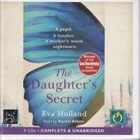 Eva Holland The Daughter's Secret 9CD Audio Book Unabridged Suspense Thriller