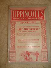 Lippencott's Monthly Magazine, August, 1912, No. 536