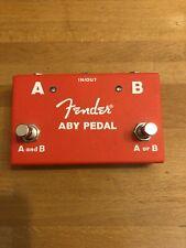 Fender ABY Umschalter