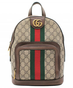 GUCCI Ophidia GG Small Backpack Beige 547965 493075