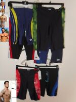 NEW Speedo Jammer Mens Compression Swimsuit 26 28 30 32 34 36 38