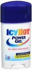 ICY HOT Power Gel Pain Reliever Gel Maximum Strength 1.75 oz (Pack of 2)