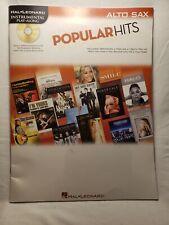 Popular Hits Instrumental Play-Along for Alto Sax (Various) Instrumental Play-Al