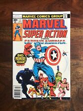 MARVEL SUPER ACTION #1 (05/77) REPRINTS CAPTAIN AMERICA #100 HIGH GRADE NM 9.4