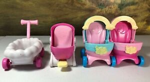 Disney Jr TOTS nursery headquarters replacement pieces double stroller wagon