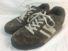 Vintage DVS Brown Tan Suede S / Milan FA PS Men's US Size 10.5 UK 9.5 Shoes