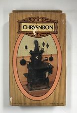 NEW VTG NOS Miniature Dollhouse Chrysnbon Cook Stove Kit F-250  1:12 Scale