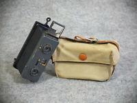 "Stereokamera ""LE GLYPHOSCOPE""  1901 - J. Richard, Paris, France, m. orig. Tasche"