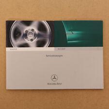 Mercedes Wartungsheft Serviceheft W 163 168 203 208 210 220 463 R 170 230 - Neu