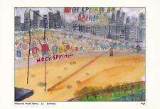 2000 Olympic Games Sydney, original postcard.