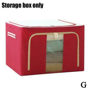 Oxford Cloth Steel Frame Storage Box 39*29*20CM 8 COLORS I1M9