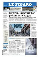 Le Figaro 08.12.2016 N°22497*FILLON*SPÉCIAL CHAMPAGNE*Jack LONDON*POLLUTION*USA