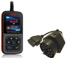 iCarsoft i910 +Adapter Diagnosegerät für BMW e36 e46 e38 e39 e60 e65 e90 X5 X3