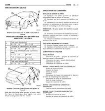 manuel atelier entretien réparation technique maintenance Chrysler 300M - fr