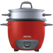 Aroma ARC-743-1NGR 6 Cup Pot Style Rice Cooker & Steamer