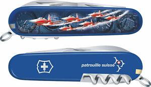 SWISS AIR FORCE Patrouille Suisse pocket knife rar ORIGINAL limit.