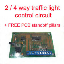 Modell Rail / Modell Railway Traffic Light Control Circuit, N / OO / HO Gauge
