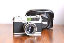 PETRI  7 S ,35mm Leica Style Rangefinder Camera  w/ Leather Case  -Made in Japan