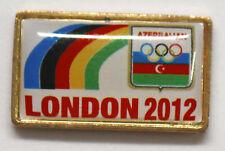 London 2012 Azerbaijan Dated Olympic NOC Pin