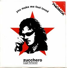 ZUCCHERO CD single 2 tracce RMX PROMO 1999 YOU MAKE ME FEEL LOVED cardsleeve EU