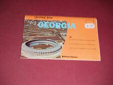 1970's Souvenir Folder Greetings From Georgia Atlanta Stadium