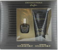 Unforgivable by Sean John for Men Set - Mini EDT Spray 0.5oz + ASB 2.5oz NIB