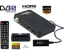 Mini Digitaler Satelliten Receiver HD mit 2x USB + IR Empfangsauge SAT FULL HD