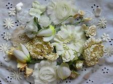 IVORY Tones Flower Petals Mix 40+ Items 1-7cm Njoyfull Crafts WMF