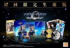 PS4 Sword Art Online Hollow Realization Limited Edition Japan Game F/S Track