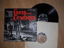 GUNS AND COWBOYS RARE COUNTRY LP SONS OF PIONEERS EDDY ARNOLD + 1960's