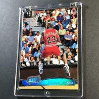 MICHAEL JORDAN 1997 TOPPS STADIUM CLUB #118 HOLOFOIL CARD CHICAGO BULLS NBA